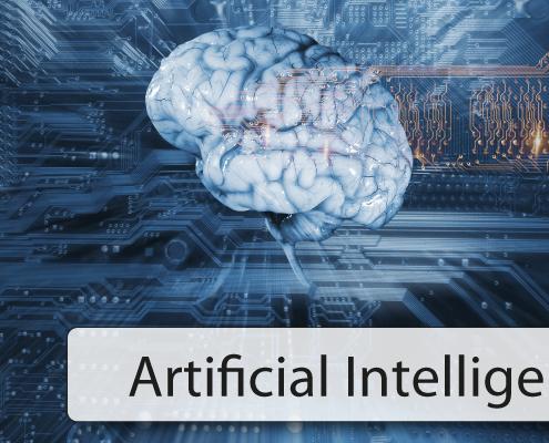 Künstliche Intelligenz AI Cyper Brain