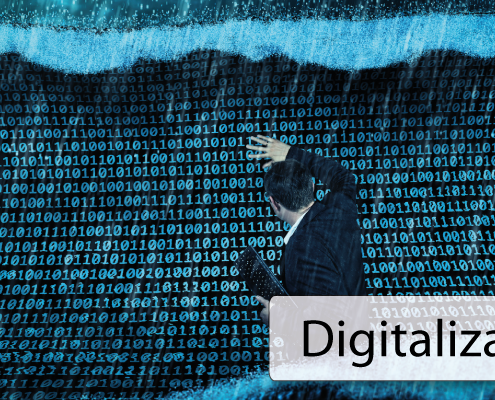 Digitalization Welle der Daten