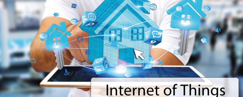 Internet-of-Things with tablet