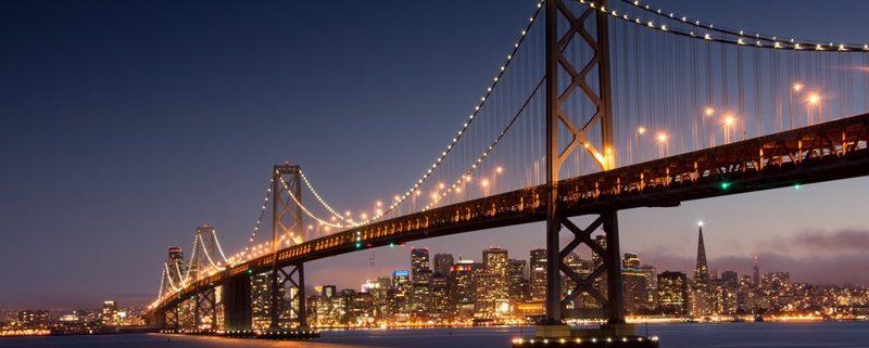 Silicon Valley & San Francisco Golden Gate Bridge
