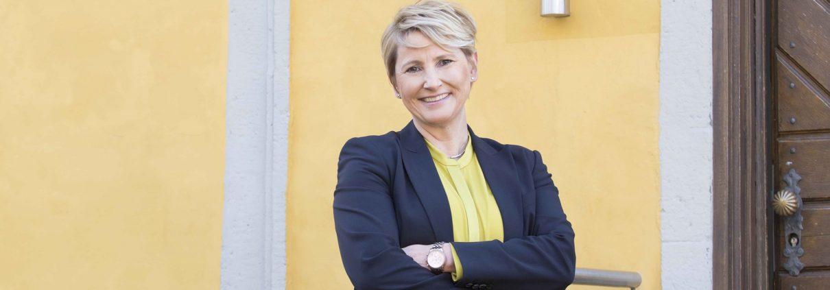 Yvonne Zimmermann, Vorstandsvorsitzende der Akademie Deutscher Genossenschaften