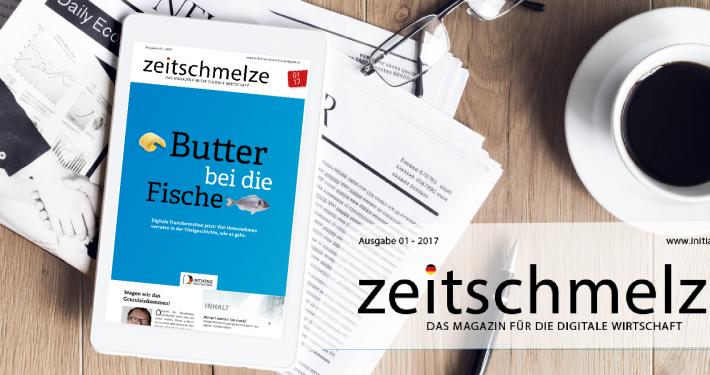 """Die neue """"zeitschmelze"""": Butter bei die Fische"""